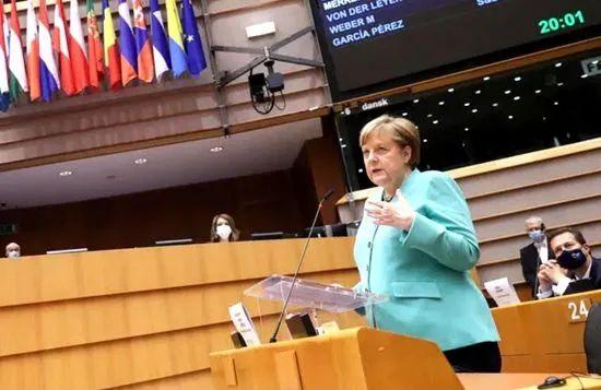 被德国总理如此辛辣地不点名批评,特朗普总统还坐得住吗?