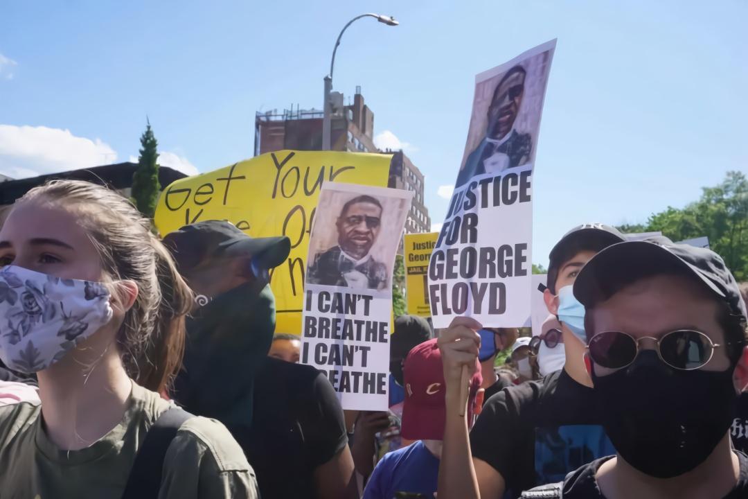 【量子链】_示威活动蔓延全美33城多城实施宵禁