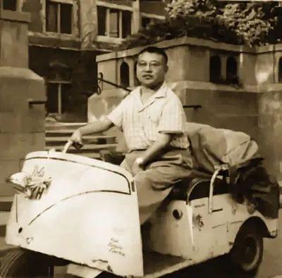 许倬云在芝加哥大学读书期间的留影。