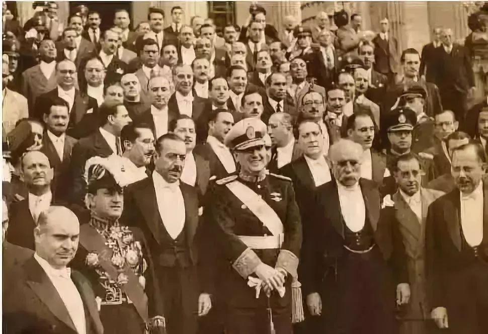 1946年,胡安·庇隆当选阿根廷总统。