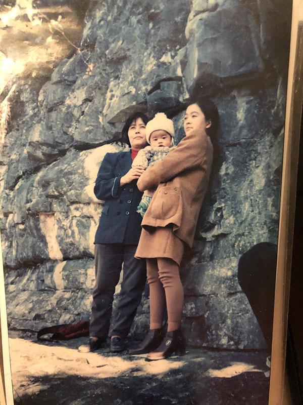 张林合和女儿外孙出事前的合影