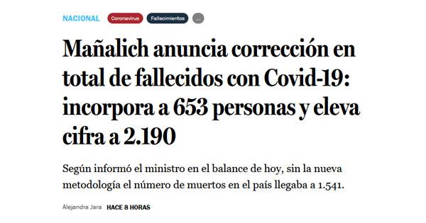 【怎样推广网站】_智利修改疫情统计口径,病死数激增42%