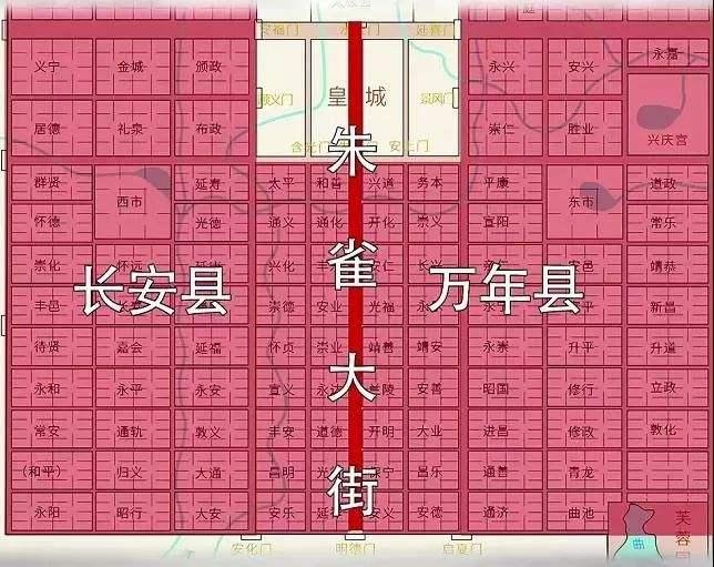 图注:长安县、万年县