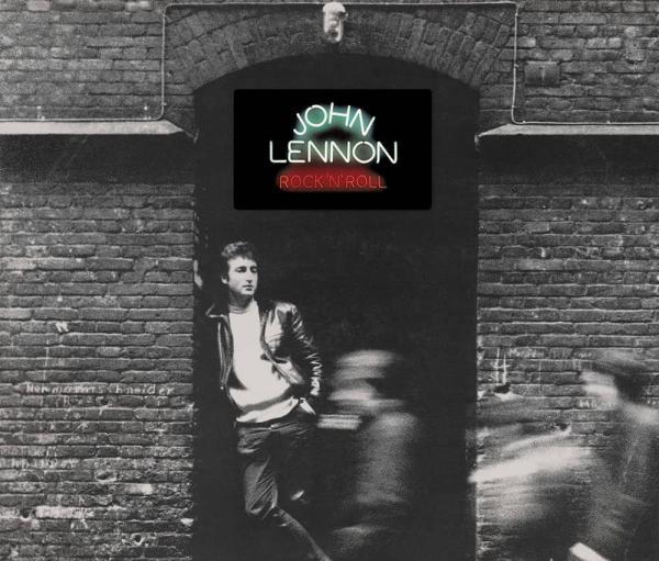 约翰·列侬《Rock 'n' Roll》专辑封面