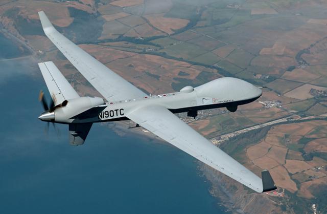 """美国MQ-9B""""天空卫士""""无人机"""
