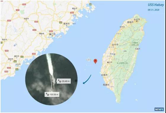 """【福州楼凤验证】_美舰穿越台湾海峡 被曝光""""没走寻常路"""""""