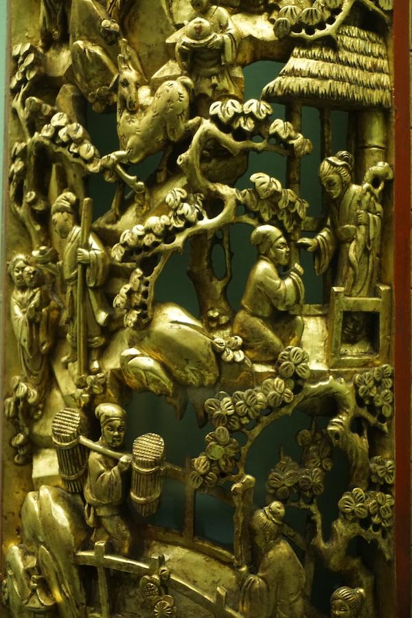 潮州木雕中的二十四孝主题