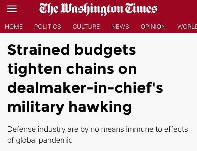 世界和平迎来好消息!美国武器卖不出去了
