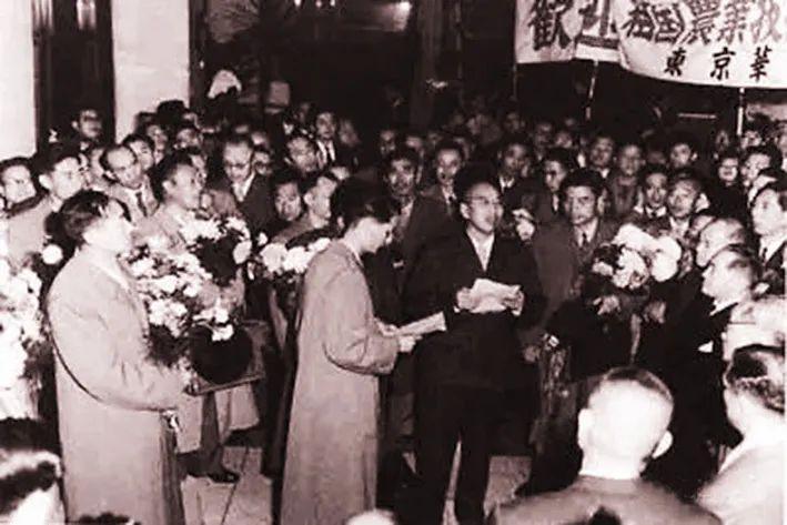 王震在日本考察受到热情接待