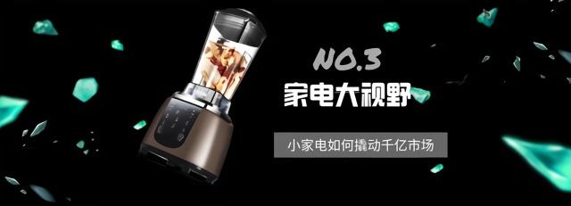 《家电大视野NO.3》小家电如何撬动千亿市场?