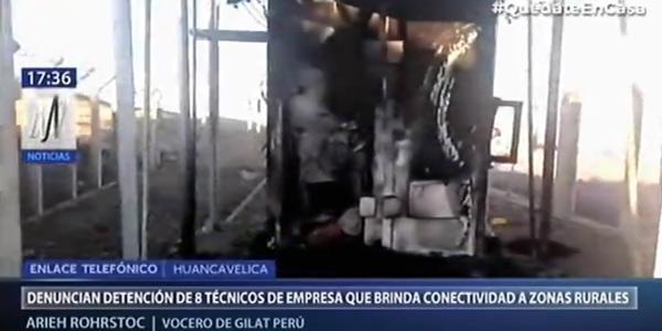 """秘鲁村民听信""""5G新冠论"""",8名技术人员被扣"""
