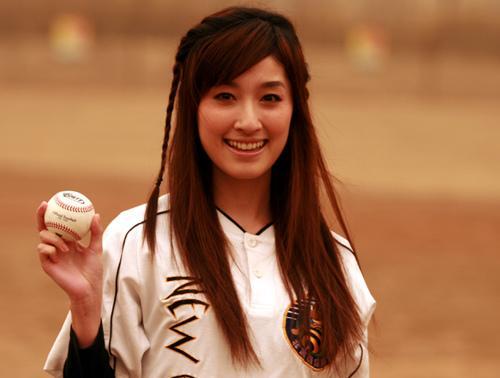 pbsl全民棒垒联盟春季比赛 田中千绘展现棒球