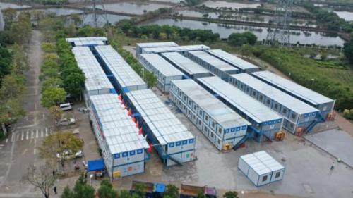 东莞装修公司在武汉启动火神山医院建设