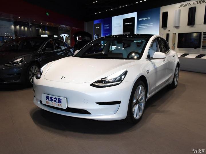 特斯拉中国 Model 3 2020款 标准续航后驱升级版