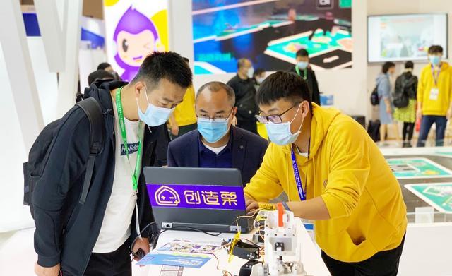 威盛创造栗亮相教育装备展 展示人工智能教育产品矩阵