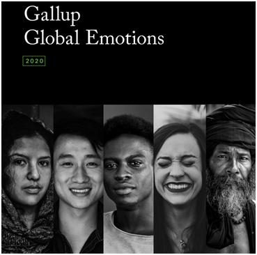 盖洛普2020年度全球情绪调查报告封面图