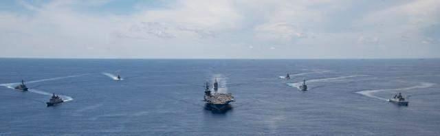 【酷狗k歌机】_现场图来了!美航母打击群与印军联合军演,印媒此前对中国放狠话