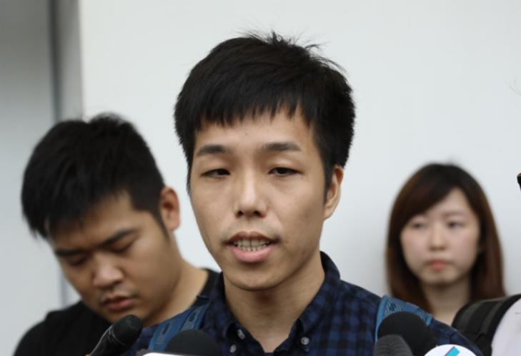 """""""新公务员工会""""主席颜武周,日前其煽动的所谓""""联署""""未遂。"""