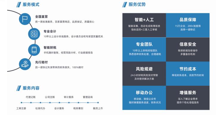 专注打造企业财税服务型技术品牌