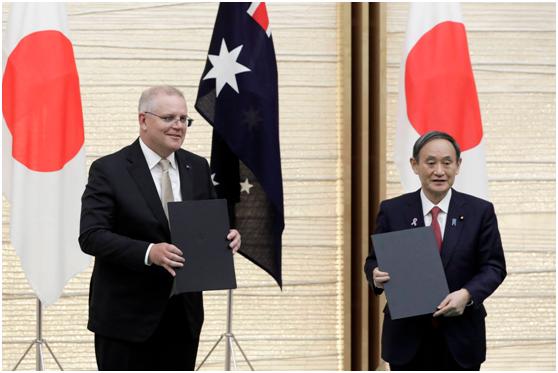 """摩登5娱乐_胡锡进:刚加入RCEP又搞""""准军事同盟""""针对中国 日澳为何如此分裂?"""
