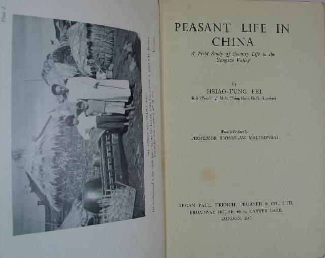 · 费孝通发表于 1938 年的《江村经济》即描述了这种联姻模式
