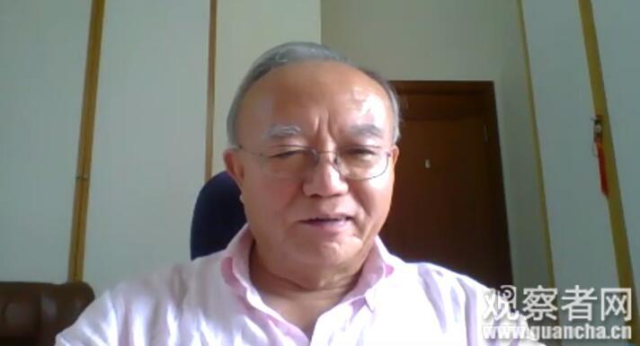 刘兆佳教授与观网视频连线