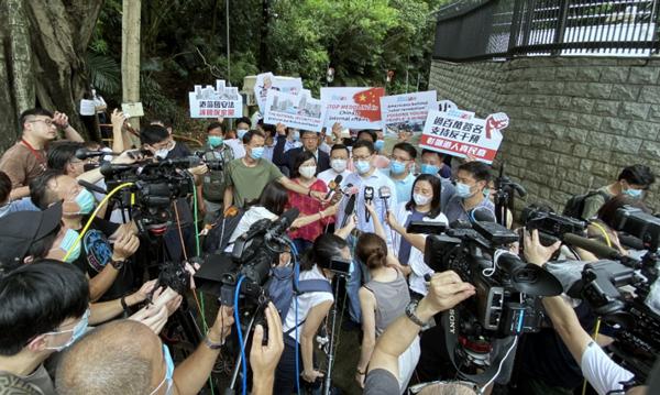 【百度收录】_反对外部干预!香港165万市民签名递交美领馆