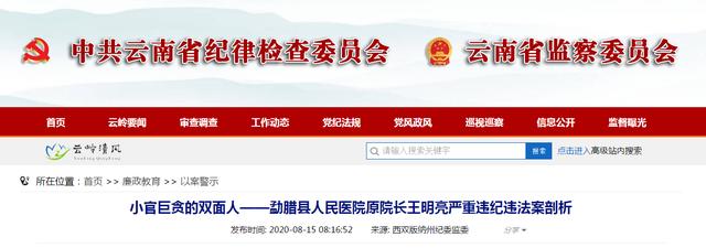 【服装网络营销方案】_云南一原国家级贫困县医院院长受贿2100万,收12套房