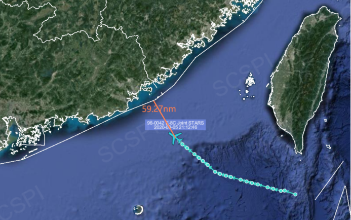罕见动作!美军在夜间派侦察机抵近广东海岸
