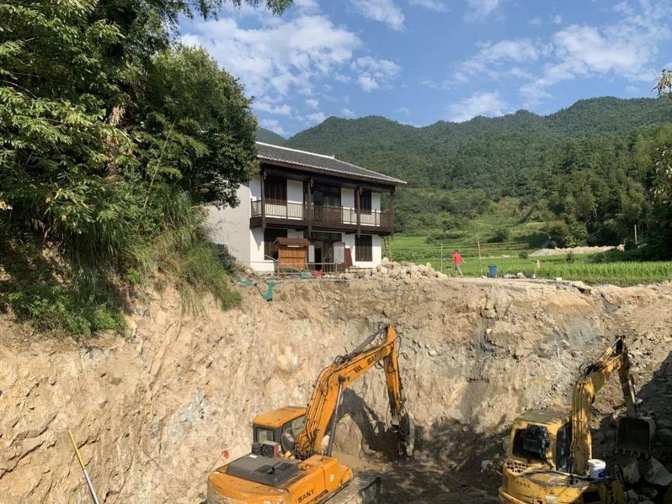 陈家大屋项目计划投资8000万元,规划面积209公顷。屋外普通农宅也被列入征收范围。(南方周末记者 李在磊/图)