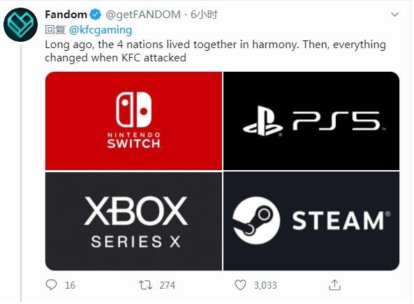 KFC游戏主机发布 4K/120帧还带烤箱?