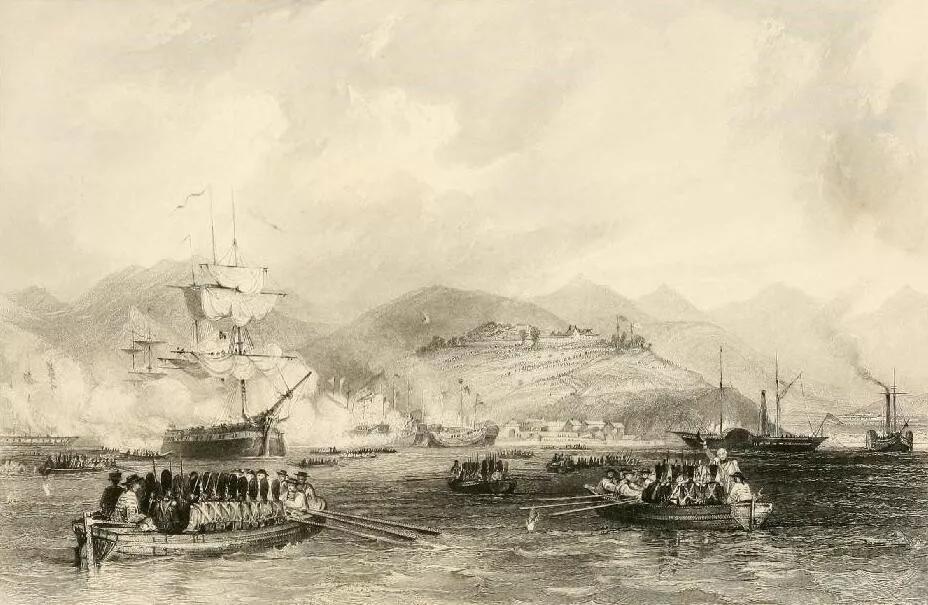 鸦片战争时英国的经济总量