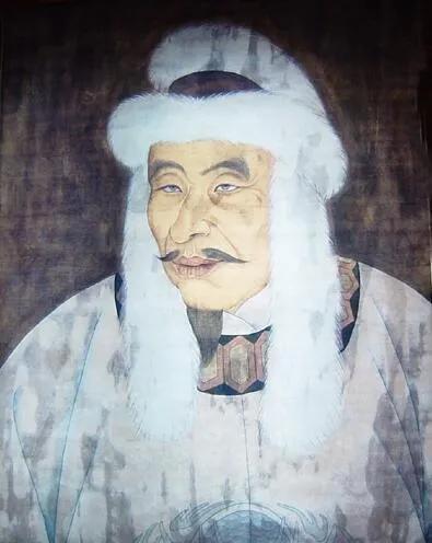 上图_ 完颜阿骨打(1068年8月1日—1123年9月19日),汉名完颜旻