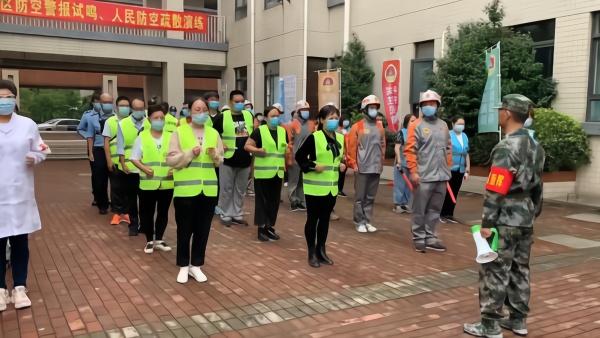 第20个全民国防教育日,上海全市拉响防空警报