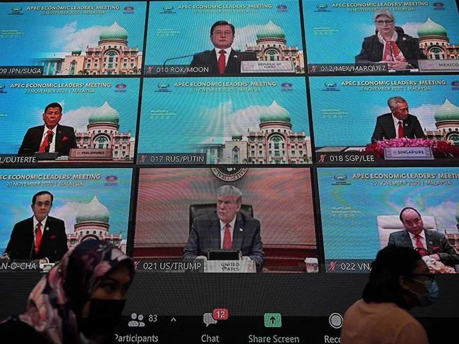 """特朗普在APEC谈""""全球卫生领域美国领导地位"""" 美媒打脸"""