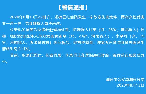 【网络营销的价格策略】_广东潮州警方通报:夫妻情感纠纷,丈夫杀妻后自杀未遂