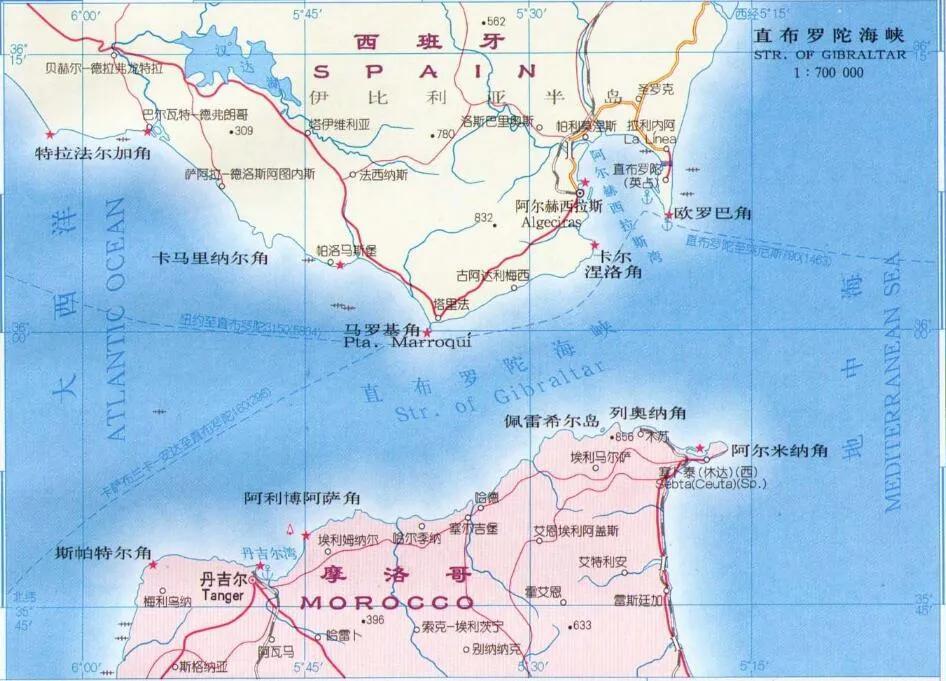上图_ 直布罗陀海峡