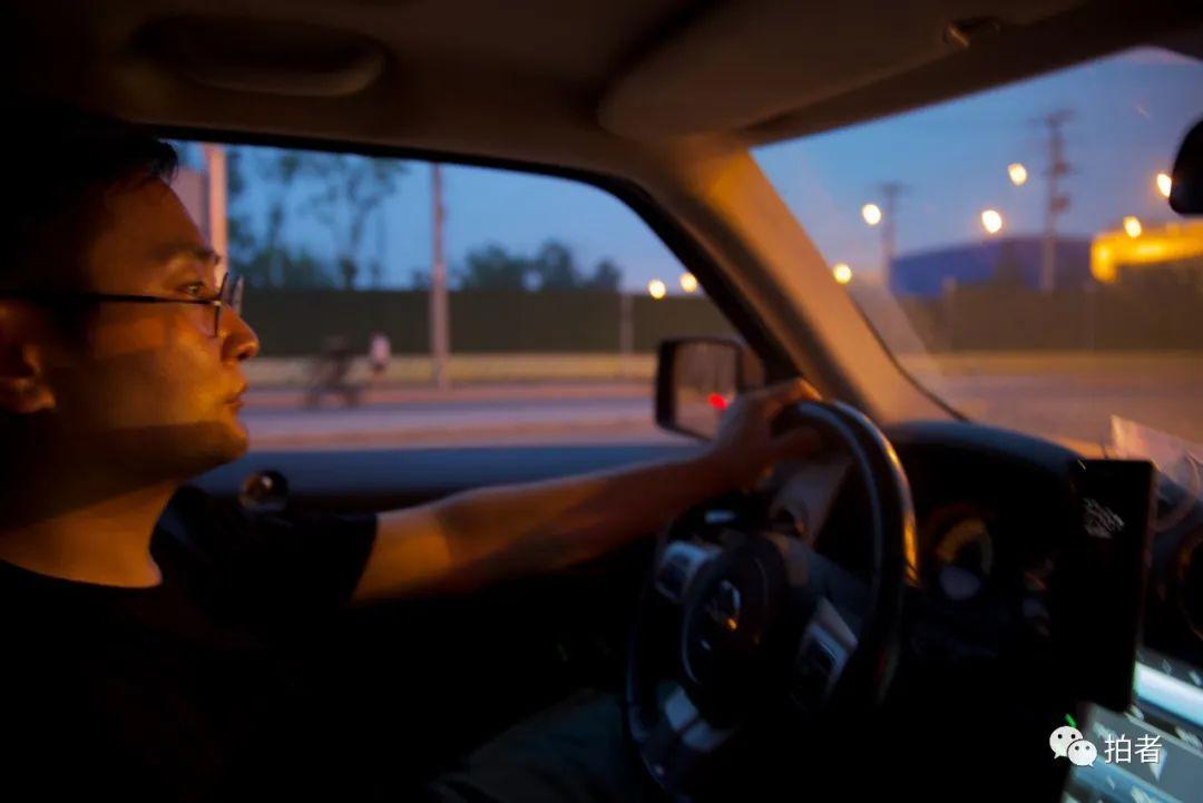 ▲7月1日,大永從北京市區駕車回家。