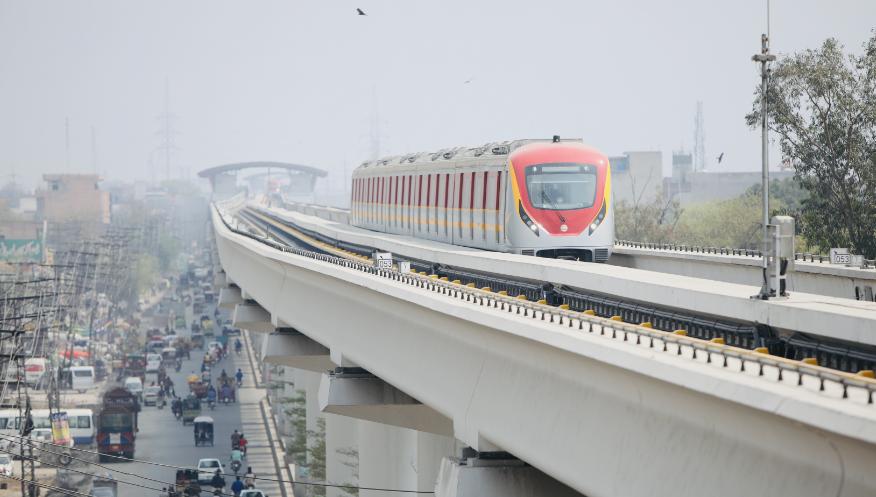 【保定快猫网址】_中企承建巴基斯坦首条城市轨道交通项目竣工交付