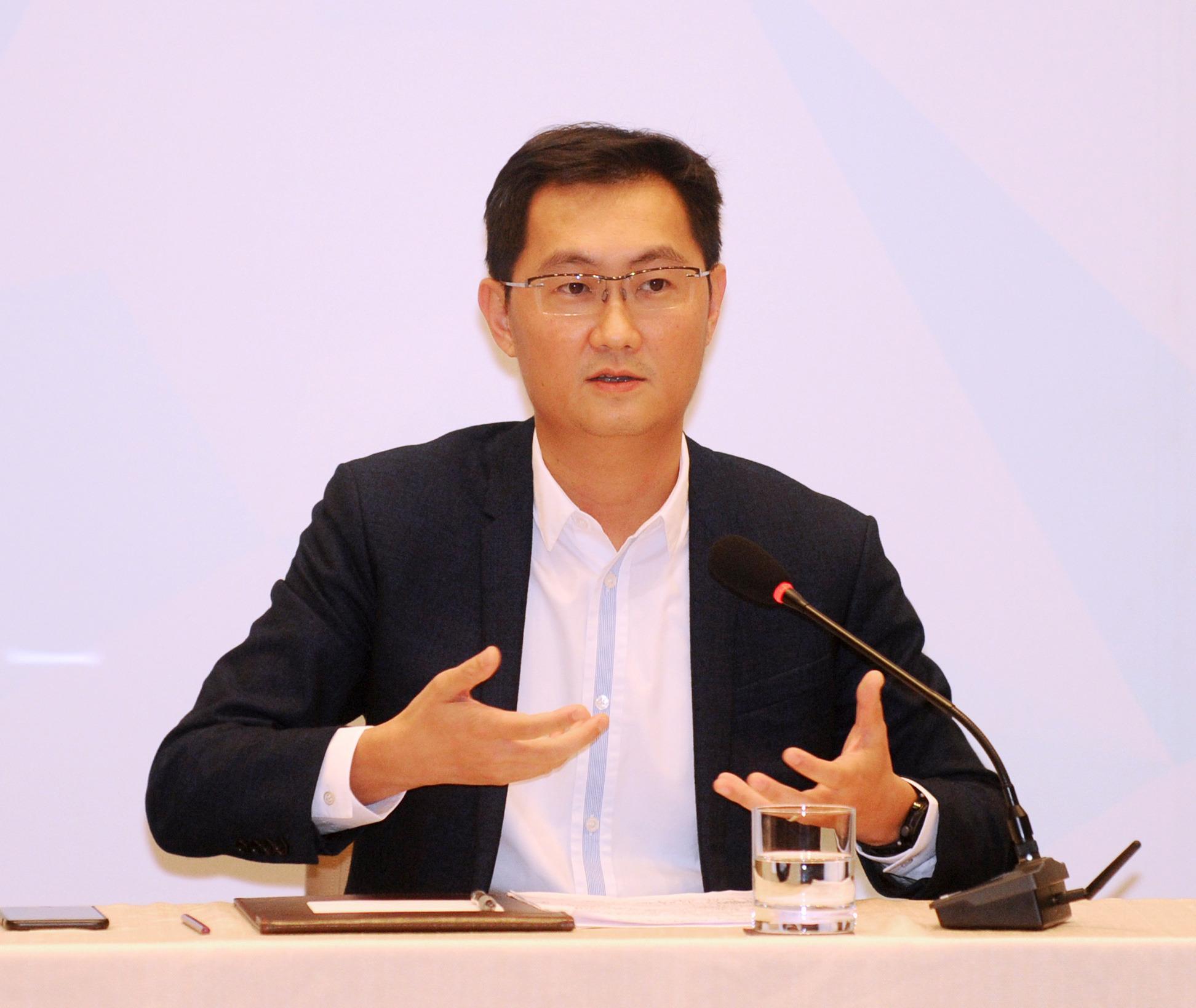 马化腾。南方日报记者 肖雄 摄