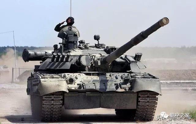 """重达46吨的T-80:达到巅峰的苏联""""飞行坦克"""""""