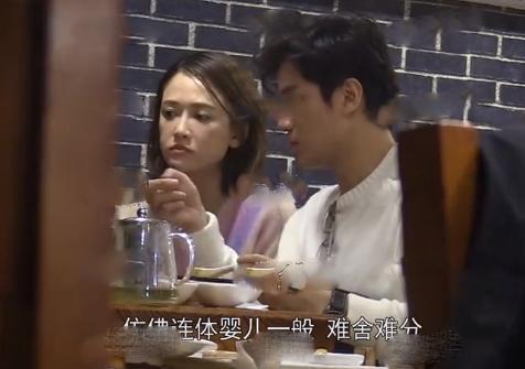陈乔恩约男友吃火锅,频频放电眼神撩人,甜蜜牵手回酒店