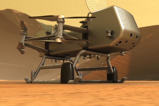 NASA推迟泰坦无人机计划 将在2027年发射