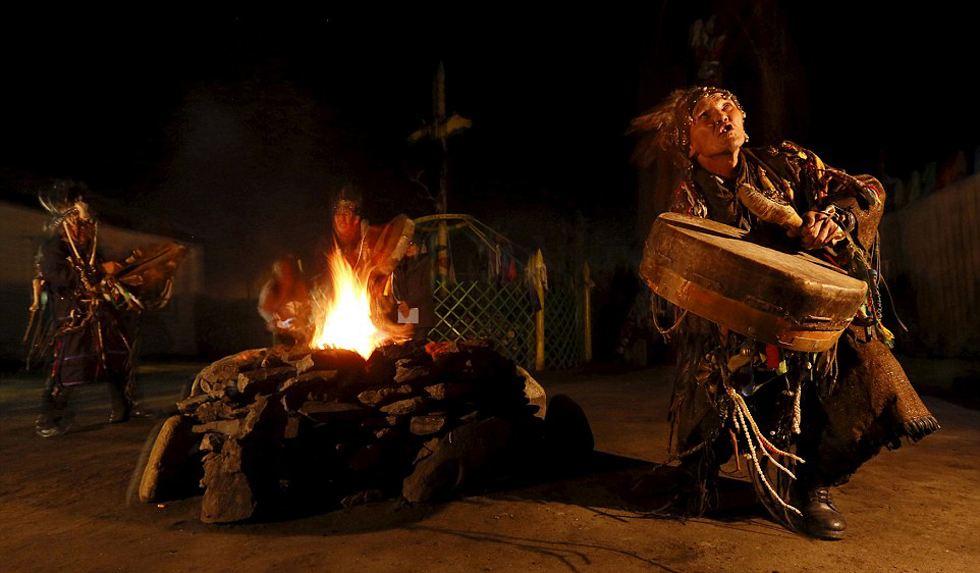 薩滿祭祀儀式