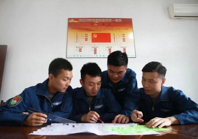 ▲飞行员学习标图