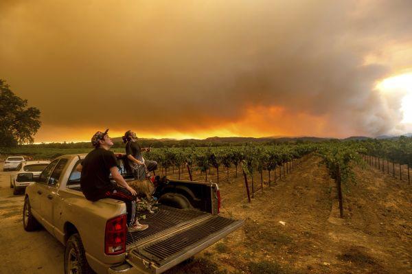 加州 山火