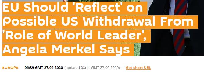 俄罗斯通讯社报道截图