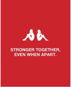 """短暂分开使我们更强大 Kappa(背靠背)释出""""社交隔离版""""Logo"""