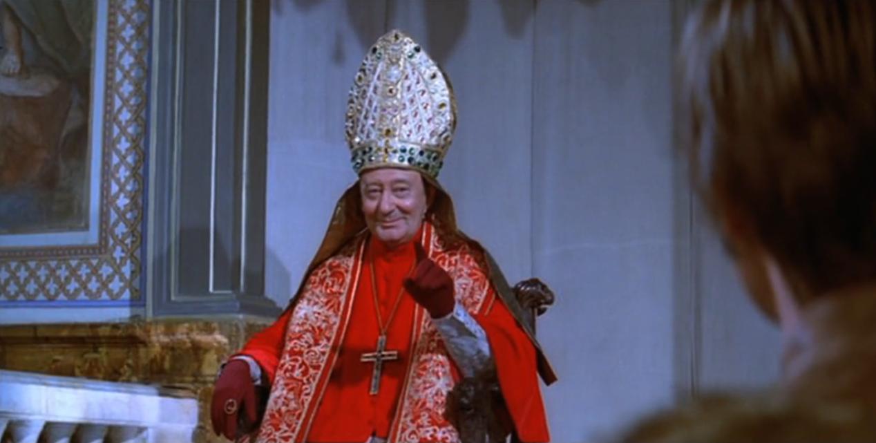 影視劇中的羅馬教皇
