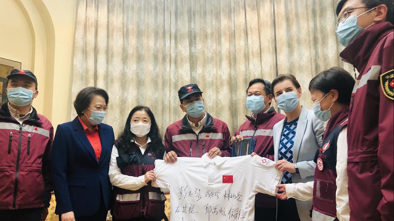 【微信注册账号申请】_塞尔维亚总理送别中国抗疫专家组,向每人赠送本国泥土